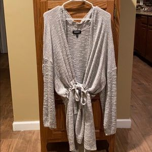 Express oversized cardigan